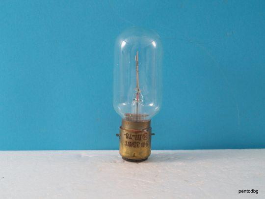Лампа РН8-35  8V 35W P20d21