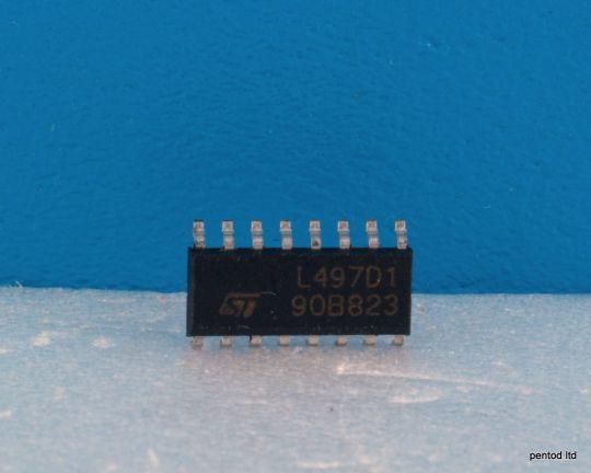 ИС  L497D1  контролер на запалването с датчик  на Хол  SO16  St