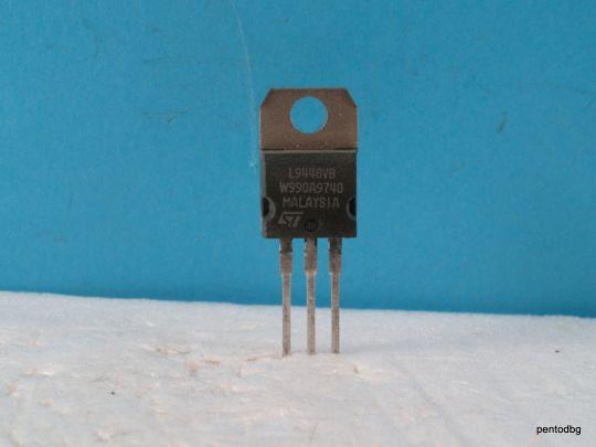 ИС  L9448VB регулатор на напрежение за автомобилни алтернатори 14,6V TO220  St