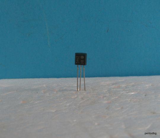 Транзистор BCY86 NPN 0.2A 80V 300MHz  0.3 W