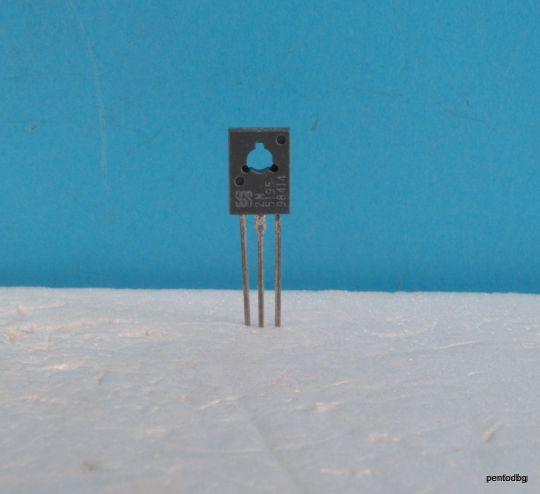 Транзистор BD138 PNP 1A 60V 75MHz  6 W