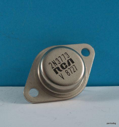 Транзистор 2N3773  NPN  16A  140V 150W   4MHz   RCA