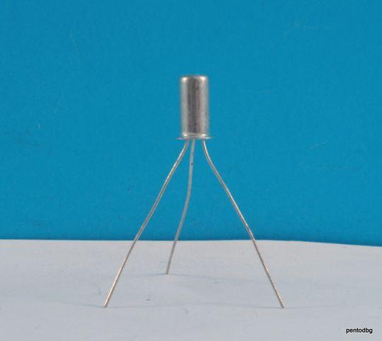 Германиев транзистор  Т358 PNP 0.12W 0.01A 20V 40MHz