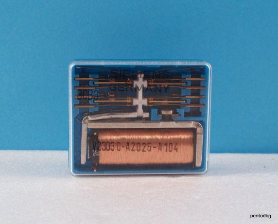 Реле V23030-A2026-A104 бобина 48V контакти 250V 2A  Siemens
