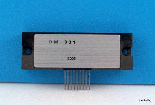 Интегрална схема OM931 30W хибриден HI-FI аудио усилвател