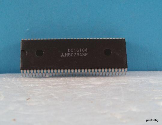 Интегрална схема  M50734SP CPU   Mitsubishi
