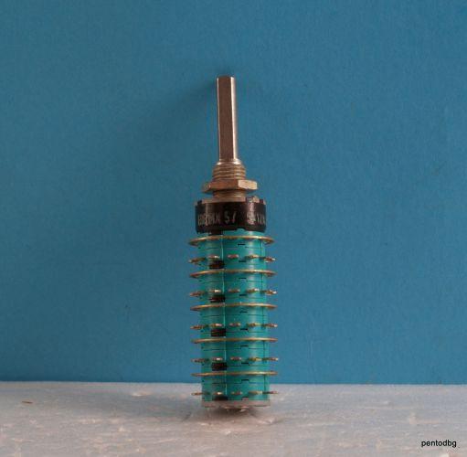 Галетен превключвател EBE MX 5/5X12K  5 секции 12 позиции