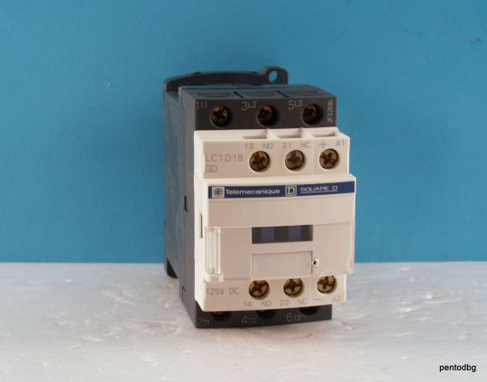 Контактор  LC1D18GD 440V 18A  бобина 125VDC Telemecanicue