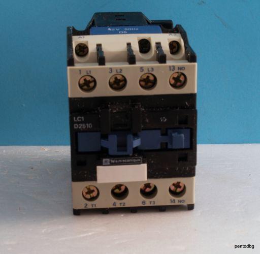 Контактор  LC1D2510D5  440V 25A  бобина 42VAC 50Hz  Telemecanicue