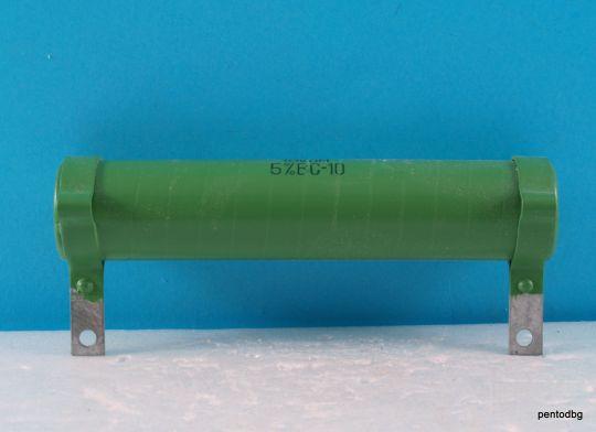 Въглероден резистор  ВС-10 13KΩ 5% 10W 3000V   СССР