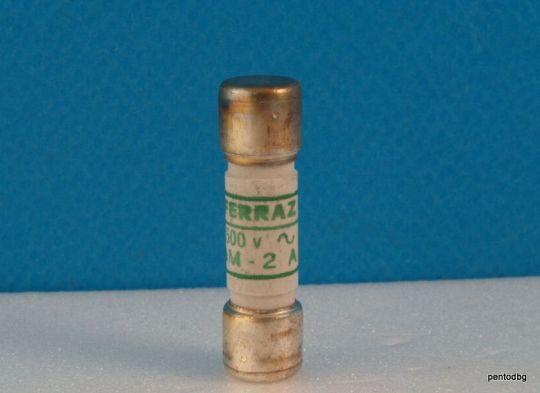 Предпазител Normeco Y94252 aM 10X38 2 A 500V Ferraz