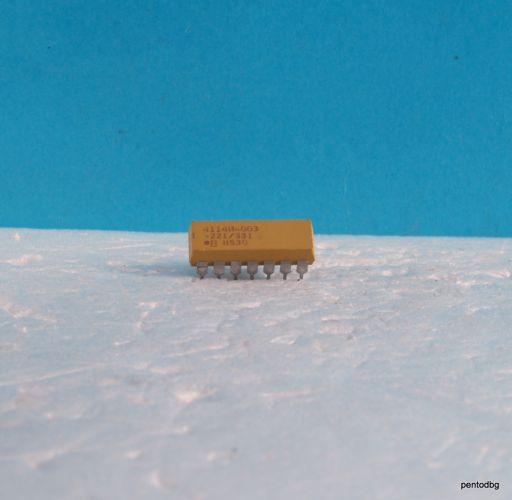 Резисторна матрица  898-3-R56  8X56Ω 2% 2W  DIP 16