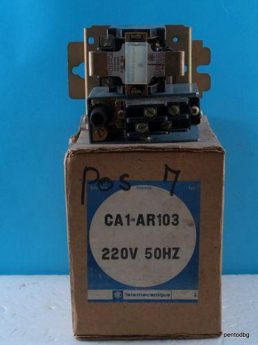 Контактор CA1-AR103  бобина 220VAC 500V 10A Telemecanicue