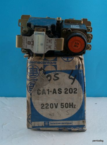Реле CA1-AS202  бобина 220VAC 500V 10A 0.2S-30S Telemecanicue