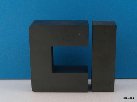 Феритна сърцевина за мощен трансформатор  U93  93x76x30mm