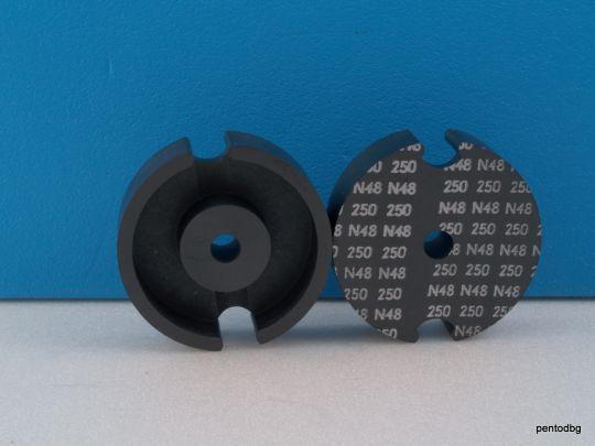 Ферит чашковиден топфкерн 41x25mm /с междина1,35mm/ N48 AL250   B65621 Siemens