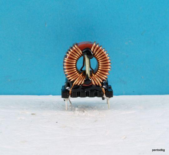 Дросел двоен ливнеен  филтър  3.3mH 6A 25mOhm Wurth Elektronik