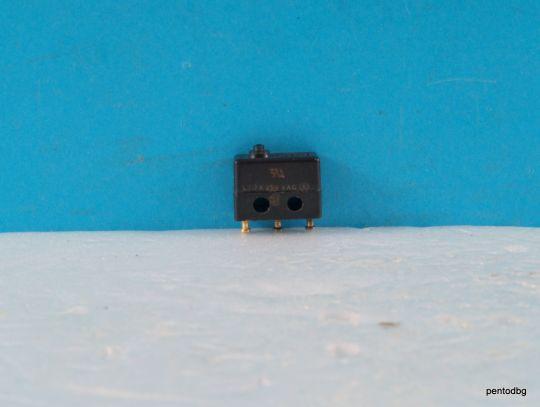 Микро превключвател 1SX1-T  Honeywell   7A 250VAC 28VDC
