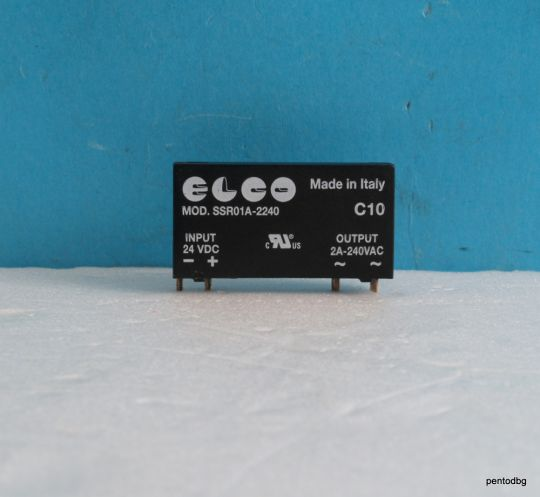 Solid state  реле  SSR01A-2240 15-30VDC  triac 2A 240VAC Elco