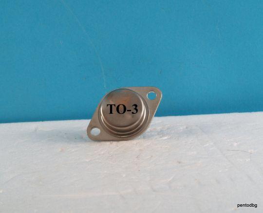 Германиев транзистор  AD302 PNP 45W 3A 40V 200KHz