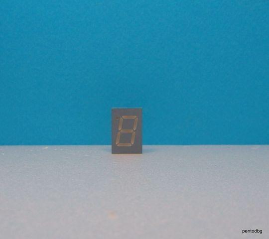 ELD-506GWA Седем сегментен цифров индикатор зелен