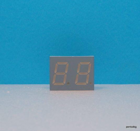 ELD-516GWA Двоен седем сегментен цифров индикатор зелен