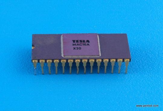 Интегрална схема MAC16A Tesla