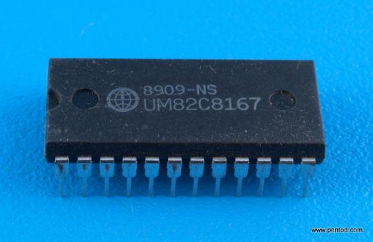 UM82C8167 ИС часовник за реално време