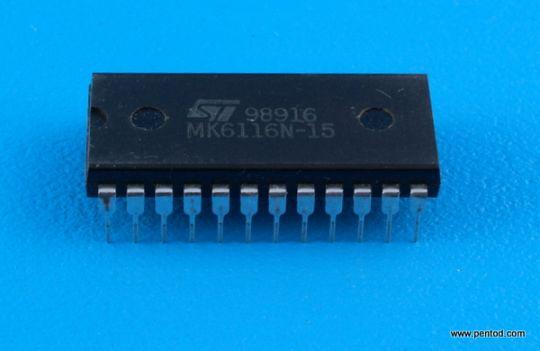MK6116N-15 CMOS STATIC RAM