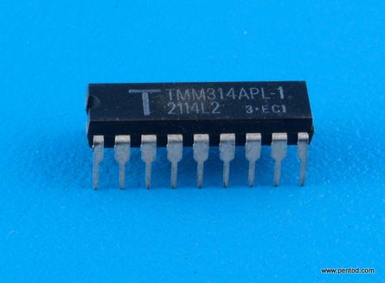 TMM314APL-1 4 BIT Static RAM