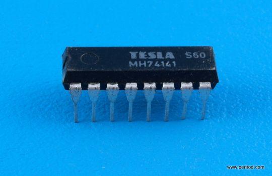 Интегрална схема TTL   MH74141  / SN74141   74141 / DIP16