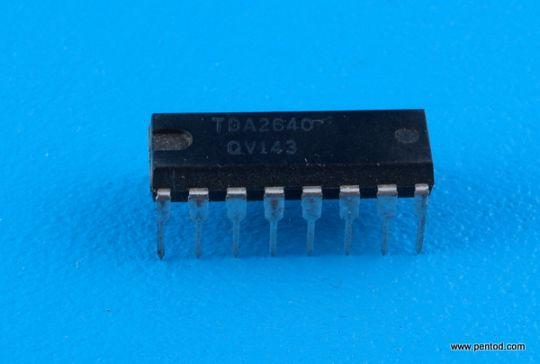 TDA2640 ИС за управление на режима за захранването на TV