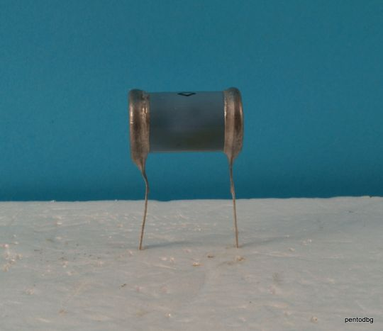 Хартиено маслен  аудио кондензатор КБГ-И 0,02мкФ  20нФ 600В +/-20% СССР