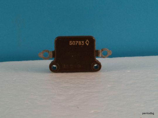 Сребърно слюден аудио кондензатор КСО-8Б 0,01мкФ  10нФ 250В +/-5% СССР