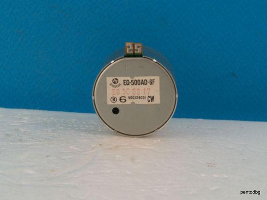 Постоянно токов  електродвигател  EG-500AD-6F 6V 2400 оборота Mabuchi Japan