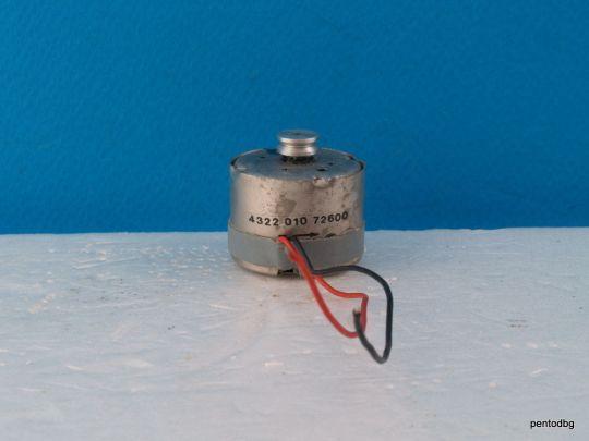 Постоянно токов  електродвигател 4322010 72600 за аудио приложение оригинален  Philips