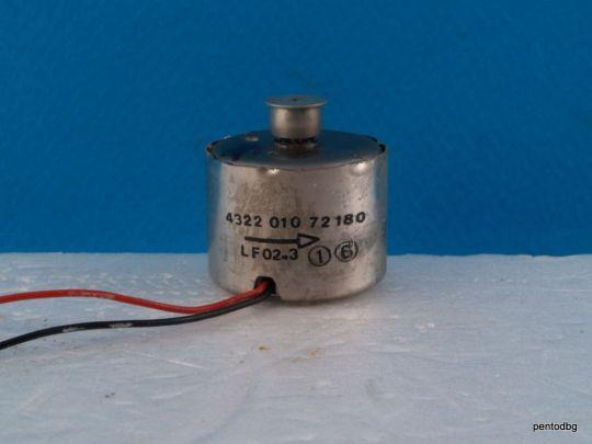 Постоянно токов  електродвигател 4322010 72 180  за аудио приложение оригинален  Philips