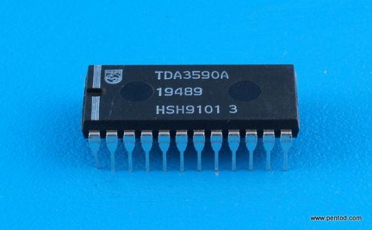 TDA3590A SECAM процесор Philips