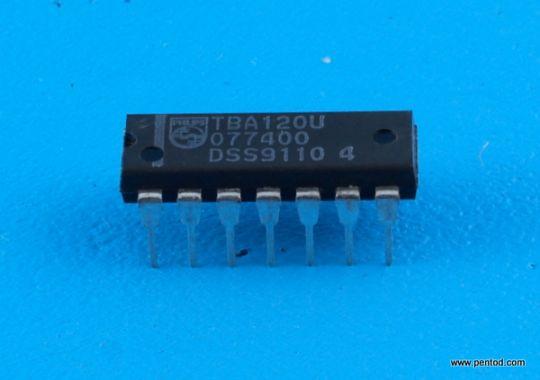 TBA120U Усилвател със симетричен FM детектор за TV Philips