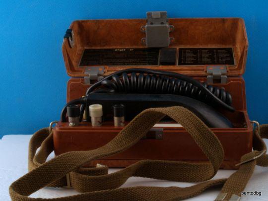 Телефонен апарат  полеви ТАП-77 оригинален нов