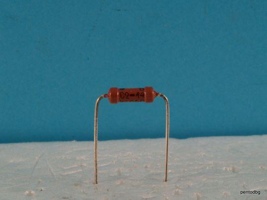 1.4КΩ ± 1% 0.5W С2-14-0,5  прецизен малошумящ  тънкослоен метализиран резистор СССР