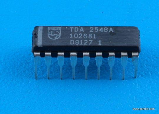 TDA2546A ИС за звука в TV приемниците
