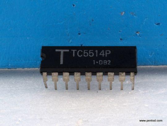 TC5514P 4K Static RAM
