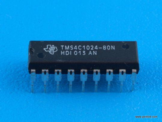 TMS4C1024-80N 1M CMOS Dynamic RAM