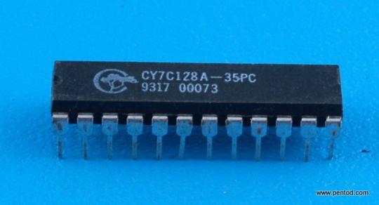 CY7C128A-35PC 2K x 8 Static RAM