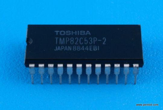 TMP82C53P-2 Програмируем таймер