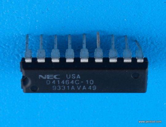 D41464C-10 DYNAMIC NMOS RAM
