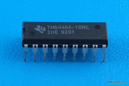 TMS4464-10L  Dynamic RAM