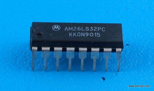 AM26LS32PC 4 приемника с три състояния на изхода MOTOROLA