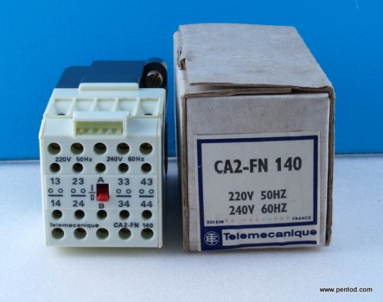 Реле CA2-FN140 бобина 220VAC 500V 10A Telemecanicue